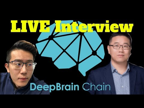 DeepBrain Chain CEO Yong He LIVE Interview ! | DBC The Leading AI Blockchain Solution
