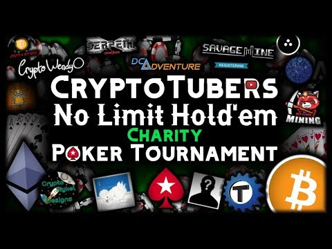 cryptotubers-no-limit-hold'em-charity-poker-tournament