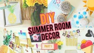 DIY: SUMMER ROOM DECOR PART# 1