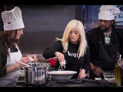 'The Lazy Girl Pasta' -- Spaghetti 101 with Bebe Rexha