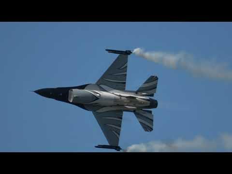 Belgian Air Force F-16 Solo Display @ Kleine Brogel Spottersday 14-09-2019