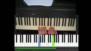 Jingle Bells, piano, easy