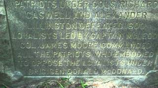 Moores Creek Battlefield Tour Part 2 Civil war North Carolina