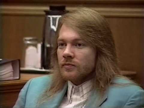 Axl Rose in court (Part 1/2)