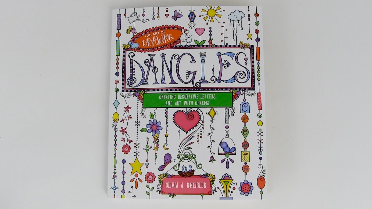 Drawing Dangles Creating Decorative Letters With Charms
