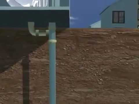 Sewage Treatment Animated 3D, Environmental Engineering