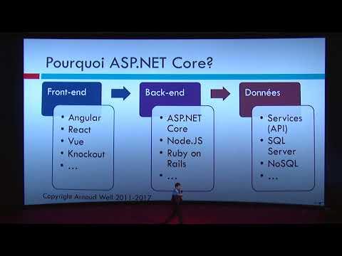 [Dev Day 2017] ASP.NET Core MVC : pourquoi, comment ? - Arnaud Weil