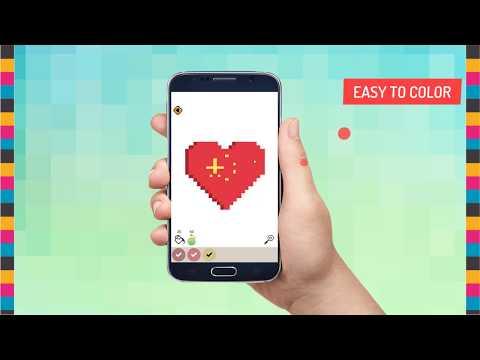 App Weihnachtsbilder.Pixel Art Coloring Book Apps Bei Google Play