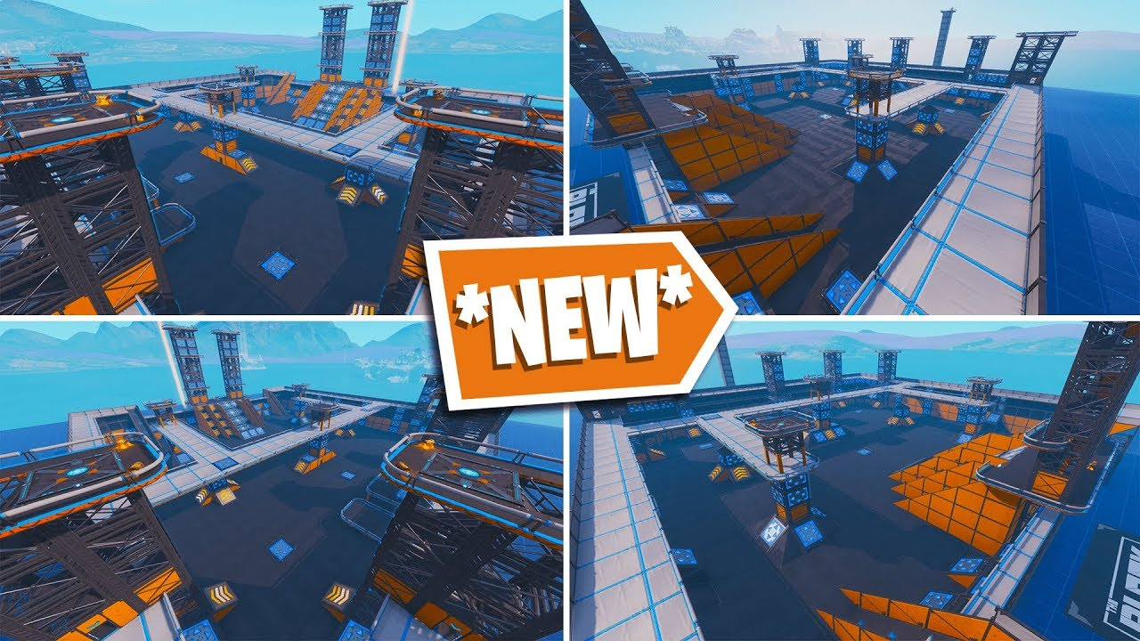*NEW* CREATIVE (ONE SHOT) MAP In FORTNITE - YouTube