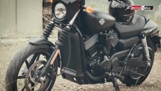 Harley Davidson Street 750 Test-ride