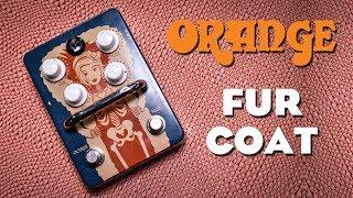 Orange Fur Coat (Fuzz) - Review