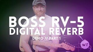 Boss RV-5 Digital Reverb Pedal Demo - Part 1