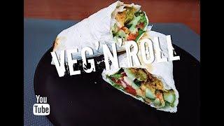 САМЫЙ ВКУСНЫЙ VEG'N'ROLL??? (вегетарианский рецепт овощного ролла)
