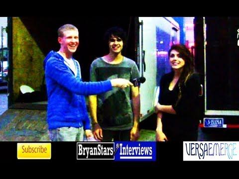 VersaEmerge Interview #2 Sierra Kusterbeck Alternative Press Tour 2011
