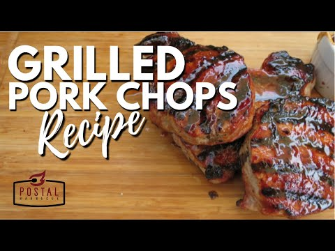 Grilled Pork Chops Recipe - How To BBQ Pork Chops On The Grill