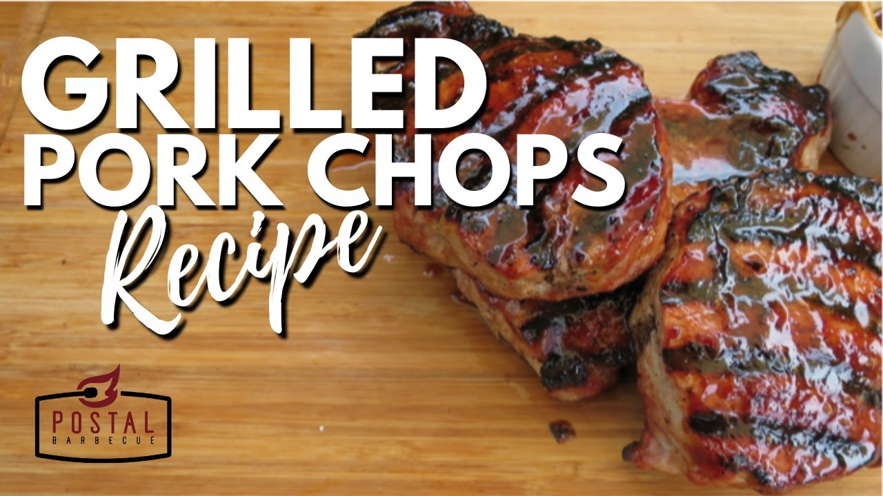 Grilled Pork Chops Recipe  How To Bbq Pork Chops On The Grill