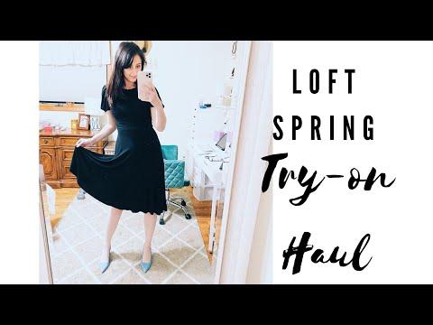 LOFT HAUL FOR SPRING   The Graceful Closet