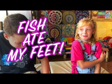 Fish ate my FEET! Payton Delu
