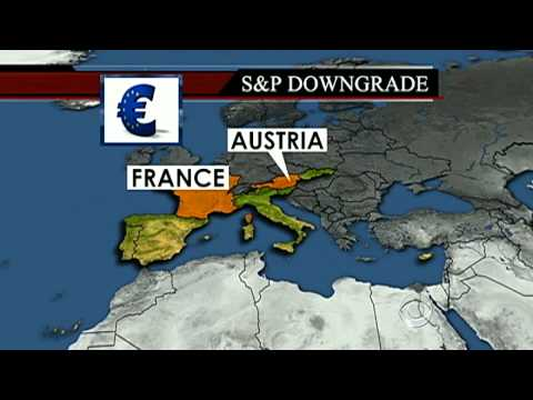9 Eurozone Countries Get Credit Downgrade