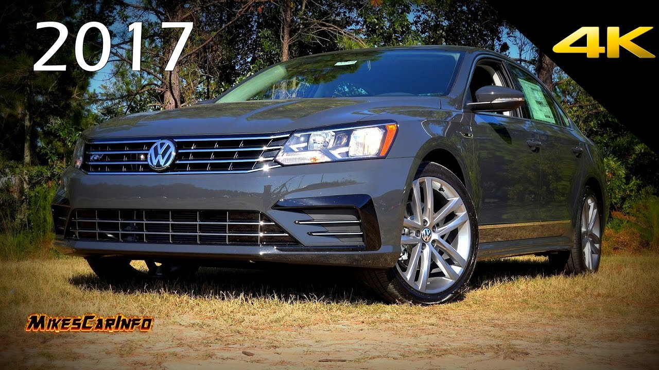 East Coast Vw >> 2017 Volkswagen Passat 1.8T R-Line - Ultimate In-Depth Look in 4K - YouTube