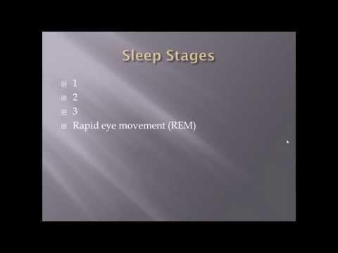 Sleep basics:  Wave form and sleep stages