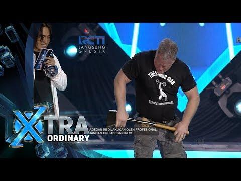 XTRA ORDINARY - Wuihh Atraksi Apa Sih Nih John Beatty The Strong Man [18 Februari 2018]