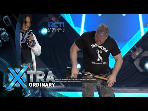 XTRA ORDINARY - Wuihh Atraksi Apa Sih Nih John Beatty The Strong Man [18 Februari 2018]