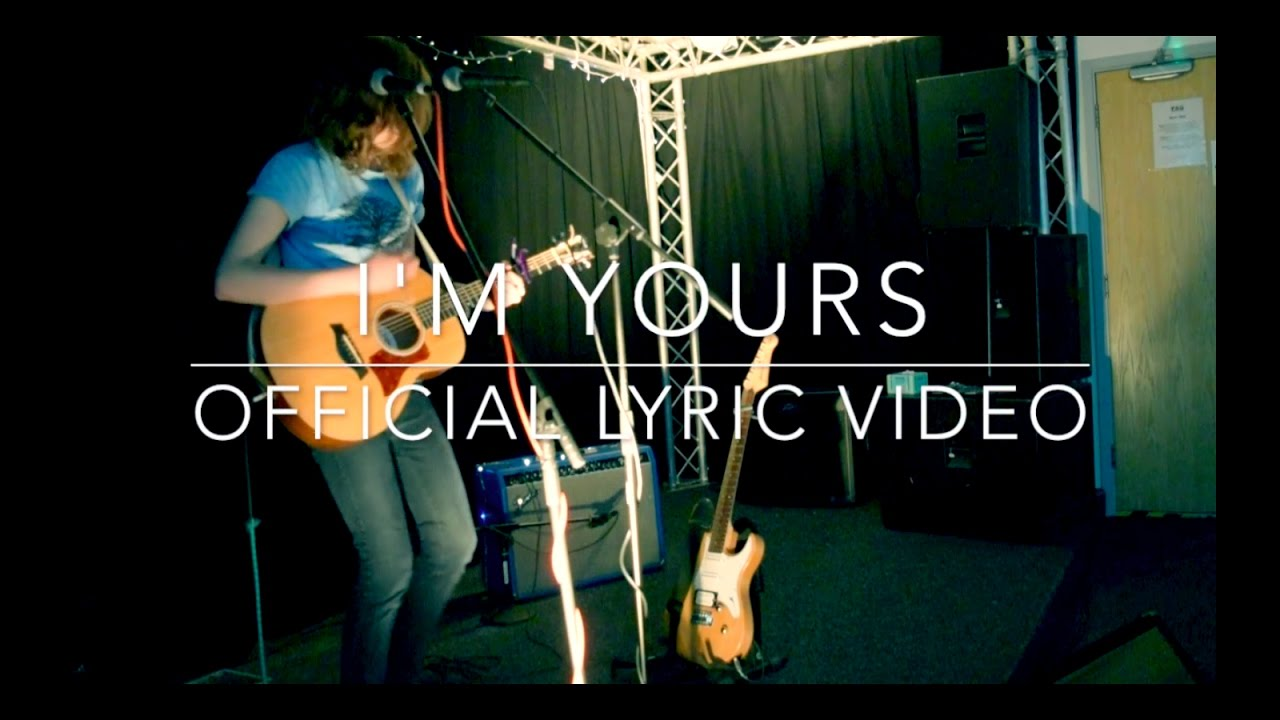 I'm Yours lyric video