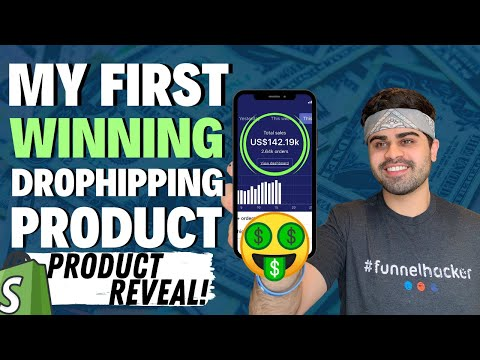 $300,000 WINNING Dropshipping Product | REVEALING My First Winner On Shopify thumbnail