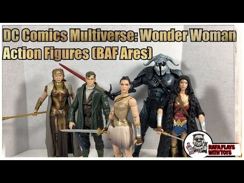 DC Comics Multiverse Wonder Woman Action Figures (BAF Ares)