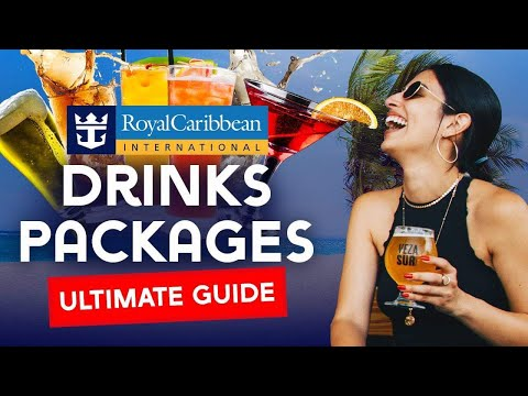 Royal Caribbean Drinks Packages Explained
