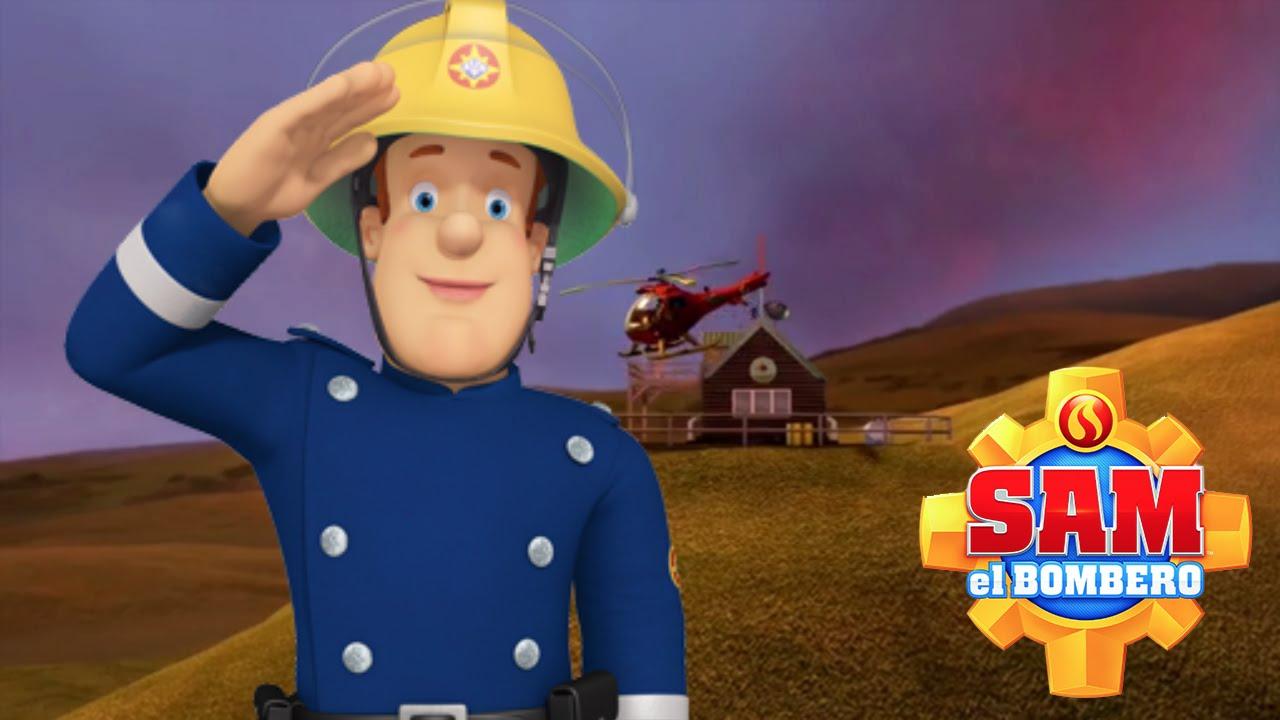 Sam el Bombero en Espaol rescates  dibujos infantiles 601  YouTube