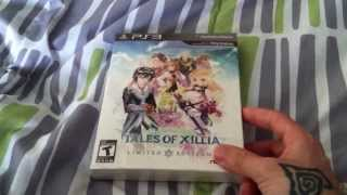 Tales of Xillia Limited Edition Unboxing for PS3