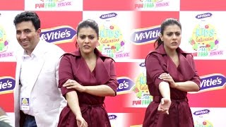 ANGRY Kajol Gets Irritated On Reporters