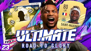 *NEW* LEGENDARY PURCHASE!!!! ULTIMATE RTG! #23 - FIFA 21 Ultimate Team Road to Glory