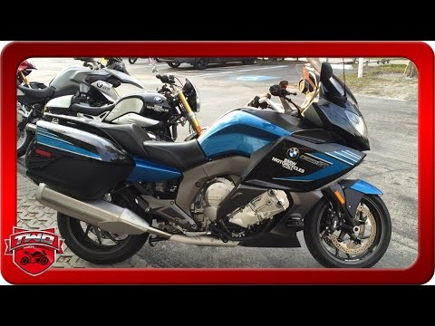 2016 bmw k 1600 gt sport motorcycle review - youtube