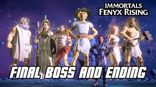 Immortals Fenyx Rising - Final Boss Fight & ENDING (PS5, 4K)