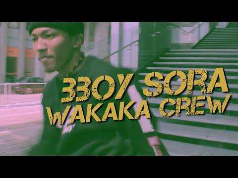 BBOYING  BBOY SORA  WAKAKA CREW  FULL HD  SKIMASK TV