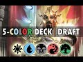 7 Wins 5 Color Deck Guilds of Ravnica Draft