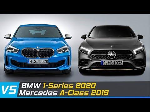 2020 Bmw 1 Series Vs 2019 Mercedes A Class Design