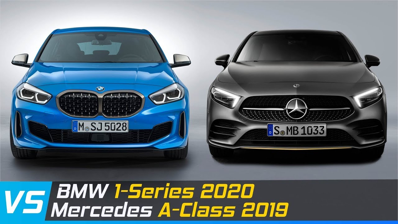 2020 Bmw 1 Series Vs 2019 Mercedes A Class Design Dimensions