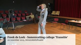 Freek de Leek - Samenvatting college 'Transitie'