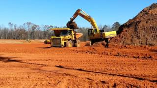 Large Earth Moving Operation