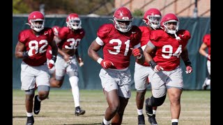 Watch Alabama Football Practice: Bryce Young, Paul Tyson, William Anderson | SEC News | CFB News