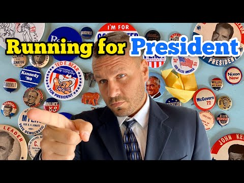RUNNING FOR PRESIDENT I Bought An Abandoned Storage Unit Locker Opening Mystery Boxes