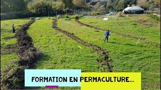 """Présentation du centre de formation à l'a Permaculture et autonomie alimentaire """"Listin'core"""""""