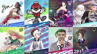 Pokémon Sword & Shield - All Character League Cards
