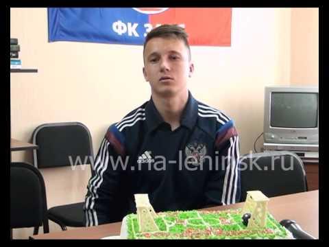 Учащийся Ленинск-Кузнецкого училища олимпийского резерва Александр Головин