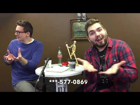 2 Guys Trying to be Comedians in a Crappy Car Getting Coffee