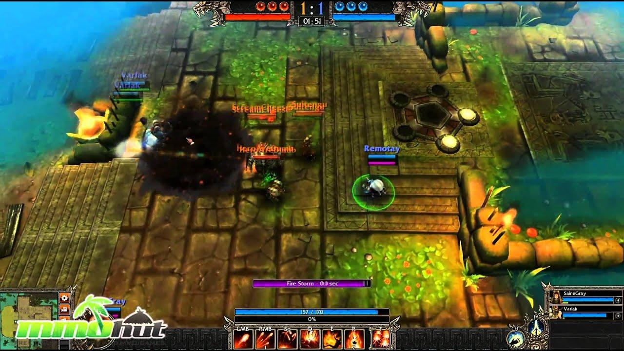 Game movies: bloodline champions the alchemist trailer (hd) demo.